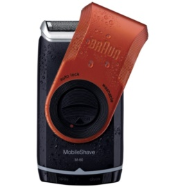 Braun MobileShave M-60r Travel Shaver Red