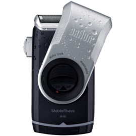 Braun MobileShave M-90 Travel Shaver Silver