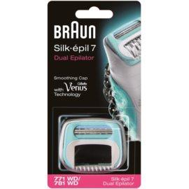Braun Silk épil 7 Dual recarga de cabeça com lâminas Braun (771 WD/781 WD)