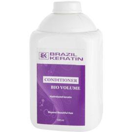 Brazil Keratin Bio Volume balsam pentru volum  500 ml