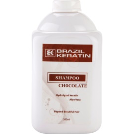 Brazil Keratin Chocolate Shampoo für beschädigtes Haar  500 ml