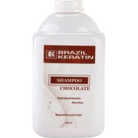 Brazil Keratin Chocolate Shampoo  voor Beschadigd Haar   500 ml
