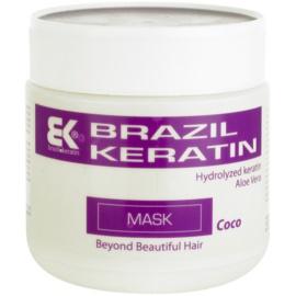 Brazil Keratin Coco maseczka keratynowa do włosów zniszczonych  500 ml