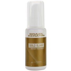 Brazil Keratin Gold грижа с масло за подхранване и хидратация  50 мл.