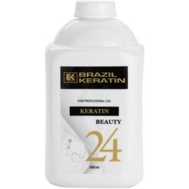Brazil Keratin Beauty Keratin спеціальний крем-догляд для вирівнювання та відновлення пошкодженого волосся  500 мл