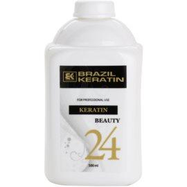 Brazil Keratin Beauty Keratin eine speziell pflegende Pflege für sanfteres Haar und die Regenerierung von beschädigtem Haar  500 ml