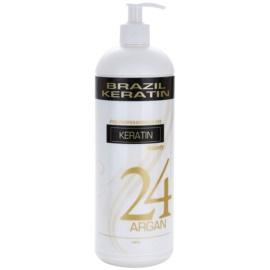 Brazil Keratin Beauty Keratin спеціальний крем-догляд для вирівнювання та відновлення пошкодженого волосся  1000 мл