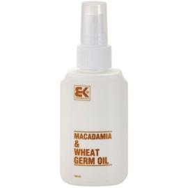 Brazil Keratin Macadamia & Wheat Germ Oil olej na vlasy a telo  100 ml