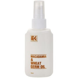 Brazil Keratin Macadamia & Wheat Germ Oil aceite para cabello y cuerpo  100 ml