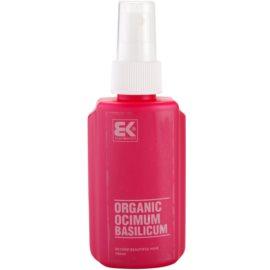Brazil Keratin Organic přírodní bazalkové sérum pro růst vlasů a výživu pleti  100 ml