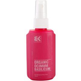 Brazil Keratin Organic Natural Basil Serum For Hair Growth And Skin Nourishment  100 ml