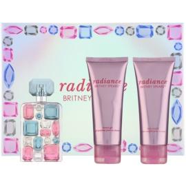 Britney Spears Radiance coffret  Eau de Parfum 50 ml + leite corporal 100 ml + gel de duche 100 ml