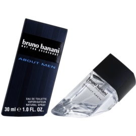 Bruno Banani About Men Eau de Toilette für Herren 30 ml