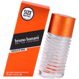 Bruno Banani Absolute Man Eau de Toilette für Herren 75 ml