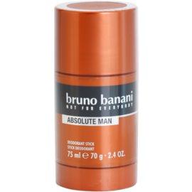 Bruno Banani Absolute Man desodorizante em stick para homens 75 ml