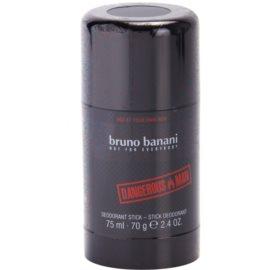 Bruno Banani Dangerous Man dezodorant w sztyfcie dla mężczyzn 75 ml