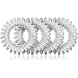 BrushArt Hair Rings прозора гумка для волосся Clear 4 кс