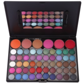 BrushArt 60 Color szemhéjfesték és arcpirosító paletta tükörrel és aplikátorral