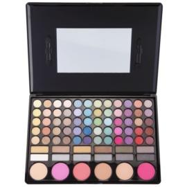 BrushArt Color paleta dekorativní kosmetiky se zrcátkem a aplikátorem