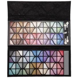 BrushArt Color paleta očních stínů se zrcátkem
