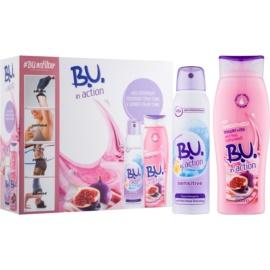B.U. In Action - My Smoothies! Yogurt + Fig Gift Set  II.  Douchecrème 250 ml + Antitranspirant  150 ml