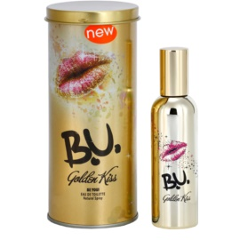 B.U. Golden Kiss Eau de Toilette para mulheres 50 ml