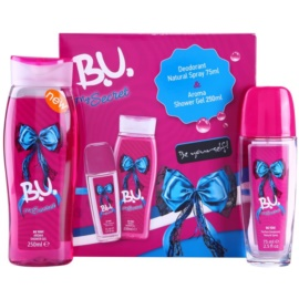 B.U. My Secret lote de regalo I.  desodorante con pulverizador 75 ml + gel de ducha 250 ml