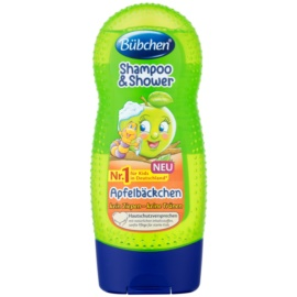 Bübchen Kids champú y gel de ducha 2 en 1 Green Apple 230 ml