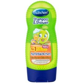 Bübchen Kids sampon és tusfürdő gél 2 in 1 Green Apple 230 ml