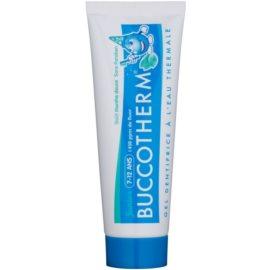 Buccotherm Junior gélová zubná pasta pre deti s termálnou vodou príchuť Smooth Mint  50 ml