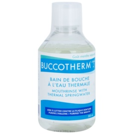 Buccotherm Natural Mint Mundwasser mit Thermalwasser  300 ml