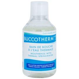 Buccotherm Natural Mint apa de gura cu apa termala  300 ml