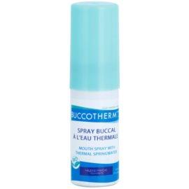Buccotherm Natural Mint Bio ústní sprej pro svěží dech s termální vodou  15 ml