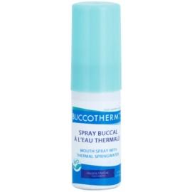 Buccotherm Natural Mint Bio ústny sprej pre svieži dych s termálnou vodou  15 ml