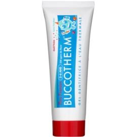 Buccotherm My First géles fogkrém gyermekeknek termálvízzel íz Strawberry (2- 6) 50 ml