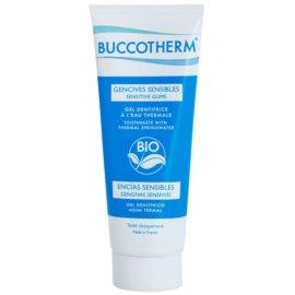 Buccotherm Sensitive Gums géles fogkrém termálvízzel  75 ml