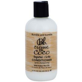Bumble and Bumble Creme De Coco odżywka wygladzająca puszące i elektryzujące się włosy  250 ml