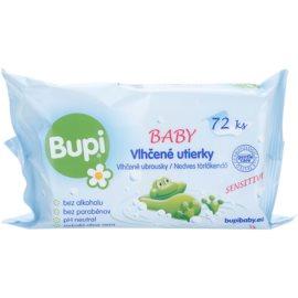 Bupi Baby finom nedves törlőkendők gyermekeknek  72 db