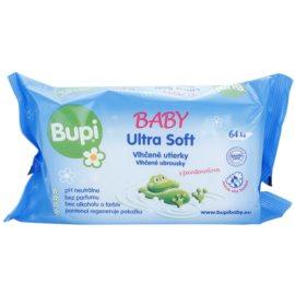 Bupi Baby Ultra Soft detské jemné vlhčené obrúsky  64 Ks