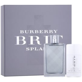 Burberry Brit Splash set cadou III  Apa de Toaleta 100 ml + Deostick 75 ml