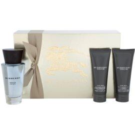 Burberry Burberry Touch ajándékszett II. EDT + ASB + H&B Eau de Toilette 100 ml + borotválkozás utáni balzsam 75 ml + krém kézre és testre 75 ml