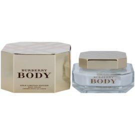 Burberry Body Gold Limited Edition Körpercreme für Damen 150 ml