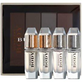 Burberry Body darčeková sada XI.  parfémovaná voda 3 x 4,5 ml + toaletná voda 4,5 ml