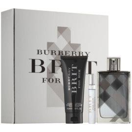 Burberry Brit for Him Gift Set ІХ  Eau De Toilette 100 ml + Aftershave Balm 75 ml + Eau De Toilette 7,5 ml