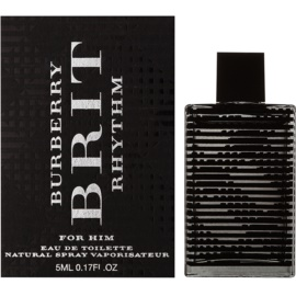 Burberry Brit Rhythm Eau de Toilette für Herren 5 ml