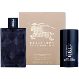 Burberry Brit Rhythm darilni set IV. toaletna voda 90 ml + Deo-Stick 75 ml