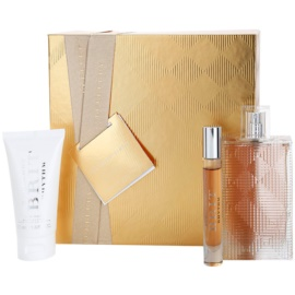 Burberry Brit Rhythm for Her darilni set I. losjon za telo 50 ml + toaletna voda 90 ml + toaletna voda 7,5 ml