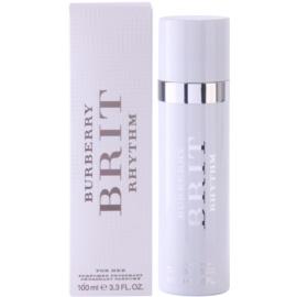 Burberry Brit Rhythm desodorizante vaporizador para mulheres 100 ml
