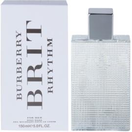 Burberry Brit Rhythm sprchový gel pro ženy 150 ml