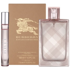 Burberry Brit Sheer confezione regalo VI  eau de toilette 100 ml + eau de toilette 7,5 ml